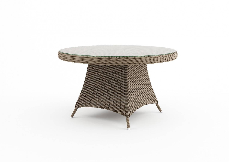 Садовый стол RONDO 130 см песок