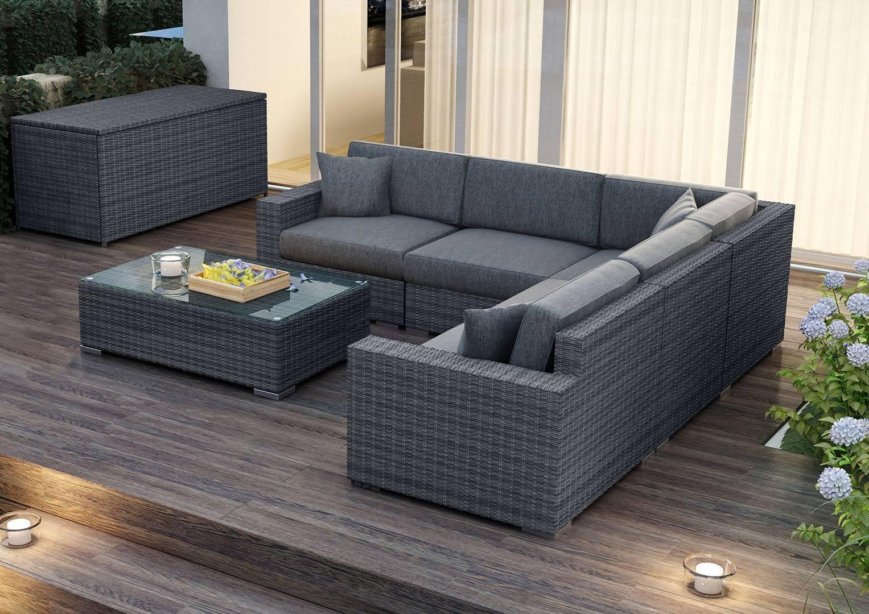 Мебель для улицы MILANO Royal серый