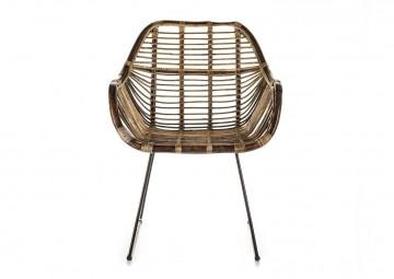 Ретро-стул из ротанга LAVAL