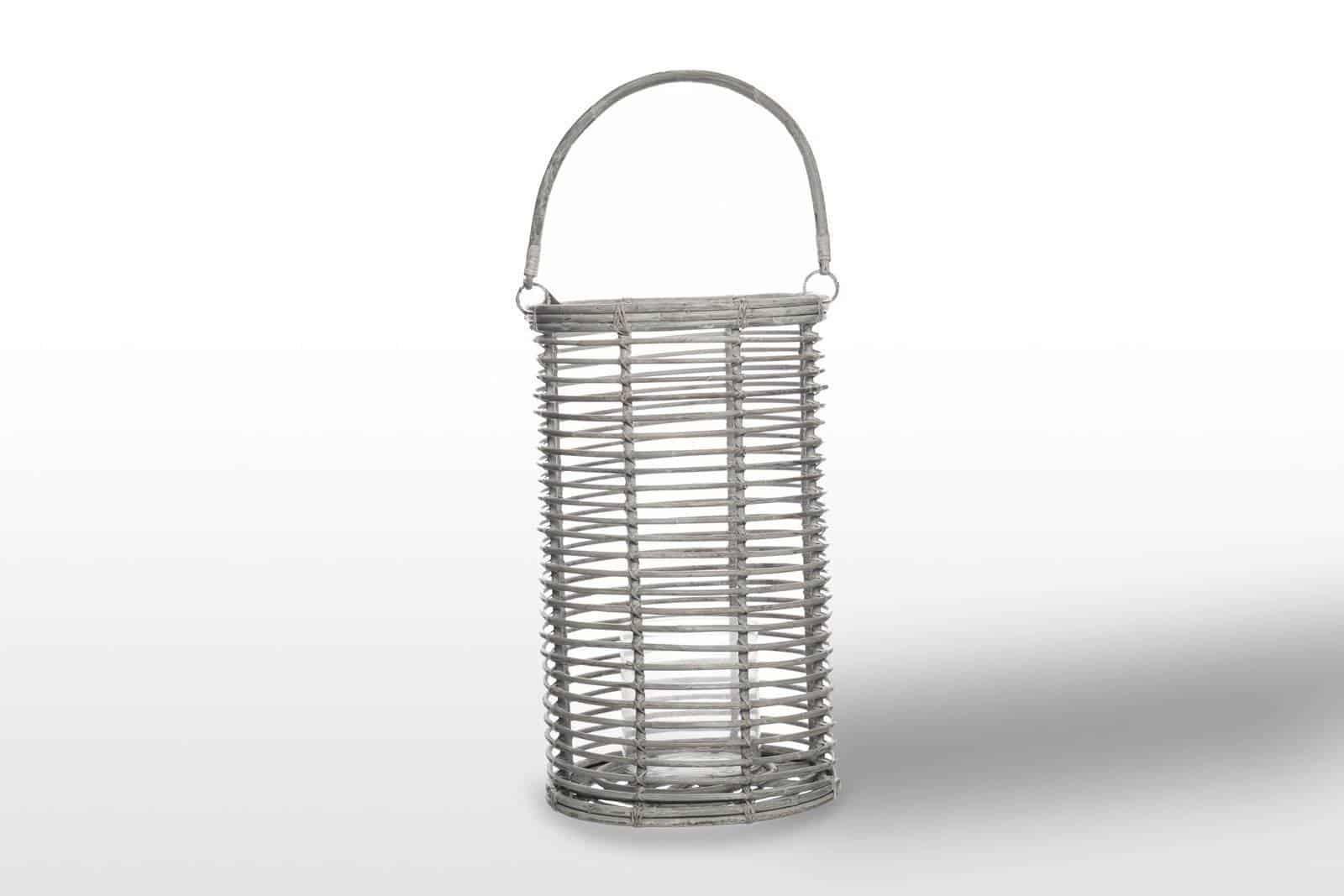 Лампион круглый AVIGNON ⌀30см x выс. 52см белый потертый