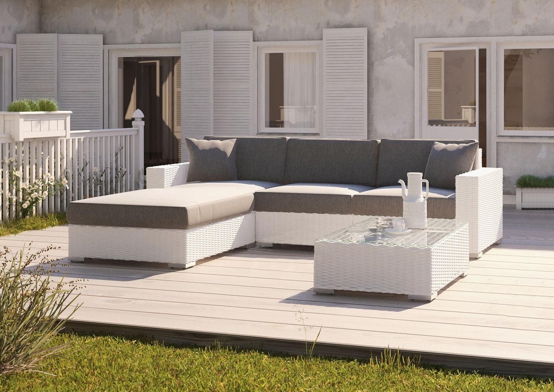 Садовый комплект MILANO Royal белый 2