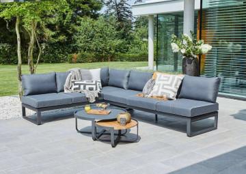 Комплект садовой мебели PARMA антрацит