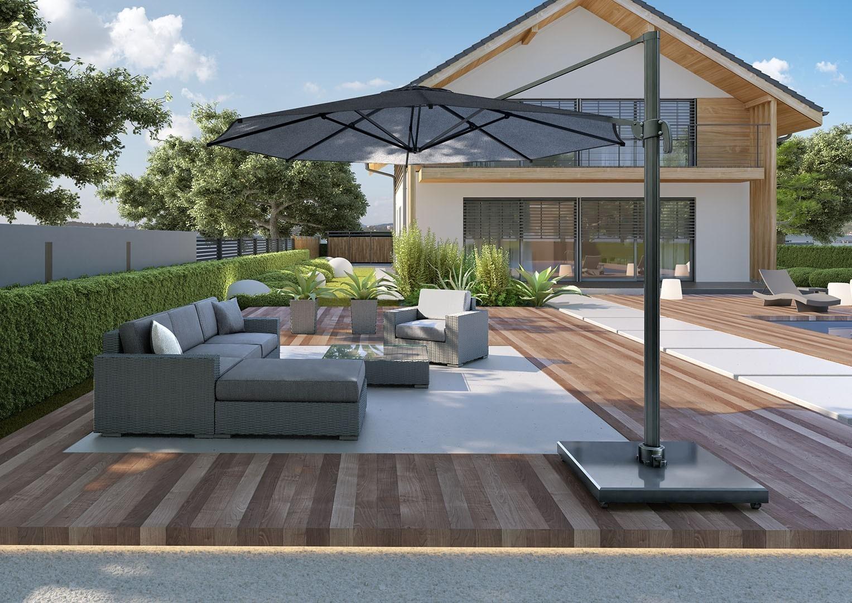 Мебель для улицы MILANO I Royal серый