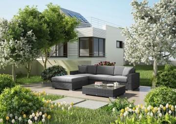 Мебель для улицы MILANO I Royal серый 2