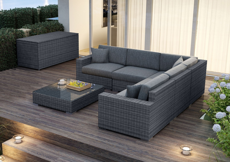 Мебель для улицы MILANO II Royal серый