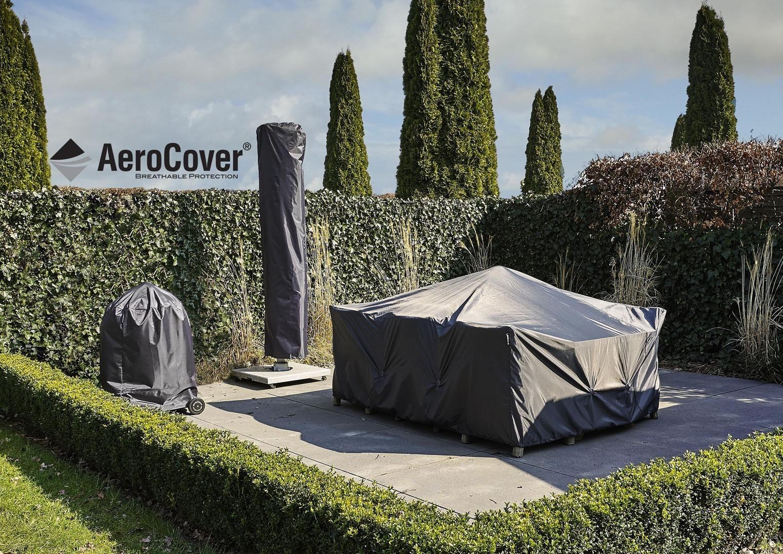 Чехол на садовый комплект угловой 300x300x90x30-45-70