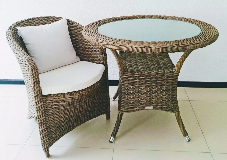 Мебель для балкона FILIP II ø90 Royal песочный