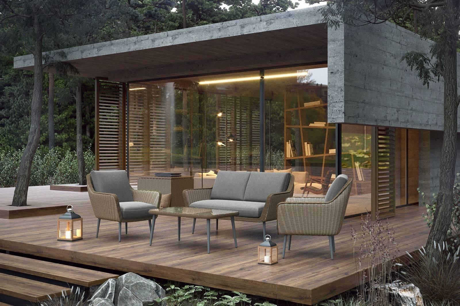 Комплект садовой мебели MONZA песок