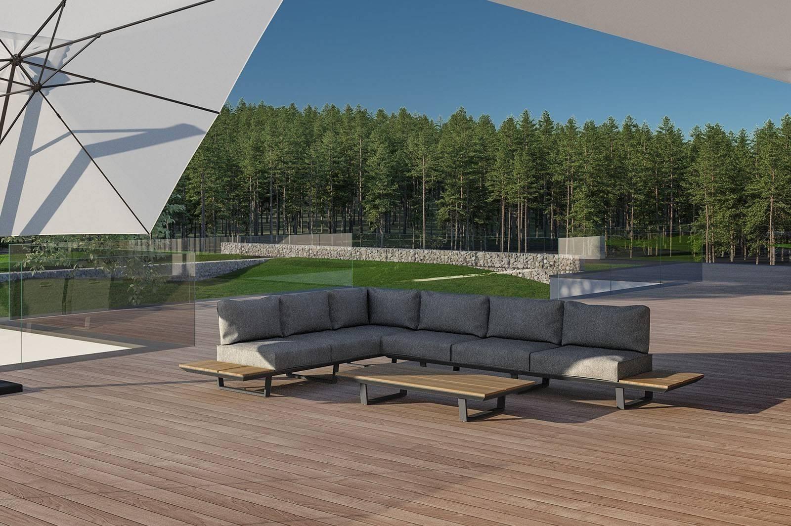 Комплект садовой мебели CORIA II grey
