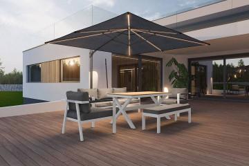 Комплект садовой мебели GRADO белый