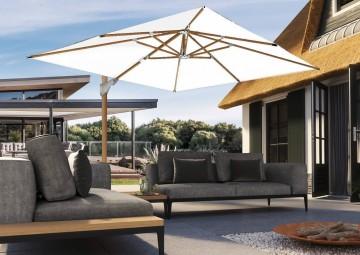 Садовый зонт Challenger T² Ø 3,5 м Oak