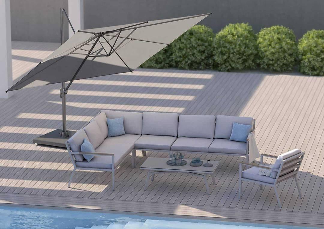 Садовый зонт VOYAGER T¹ 2.5 x 2.5 м