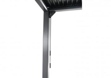 Пергола для террасы Maranza 540 см серый