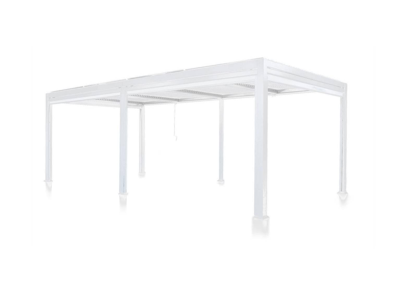 Пергола для террасы Maranza 540 см белый