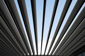 Навес для террасы Perara 300x300CM Gray