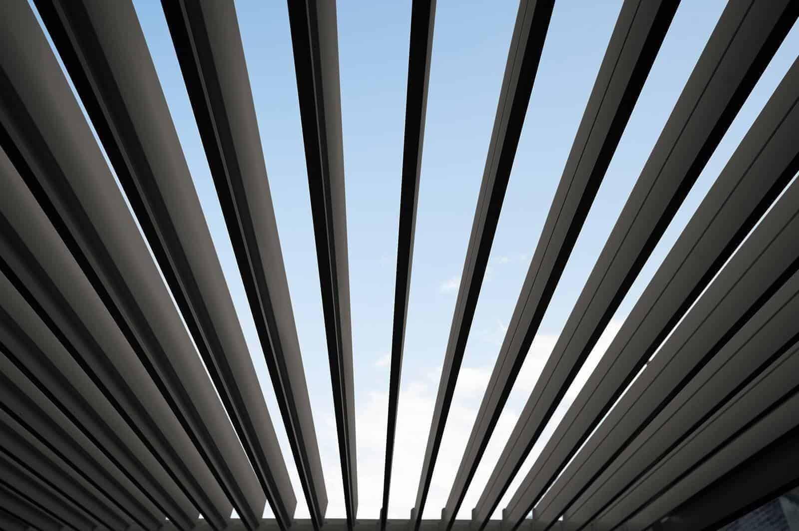 Навес для террасы Perara 360x360CM Антрацит