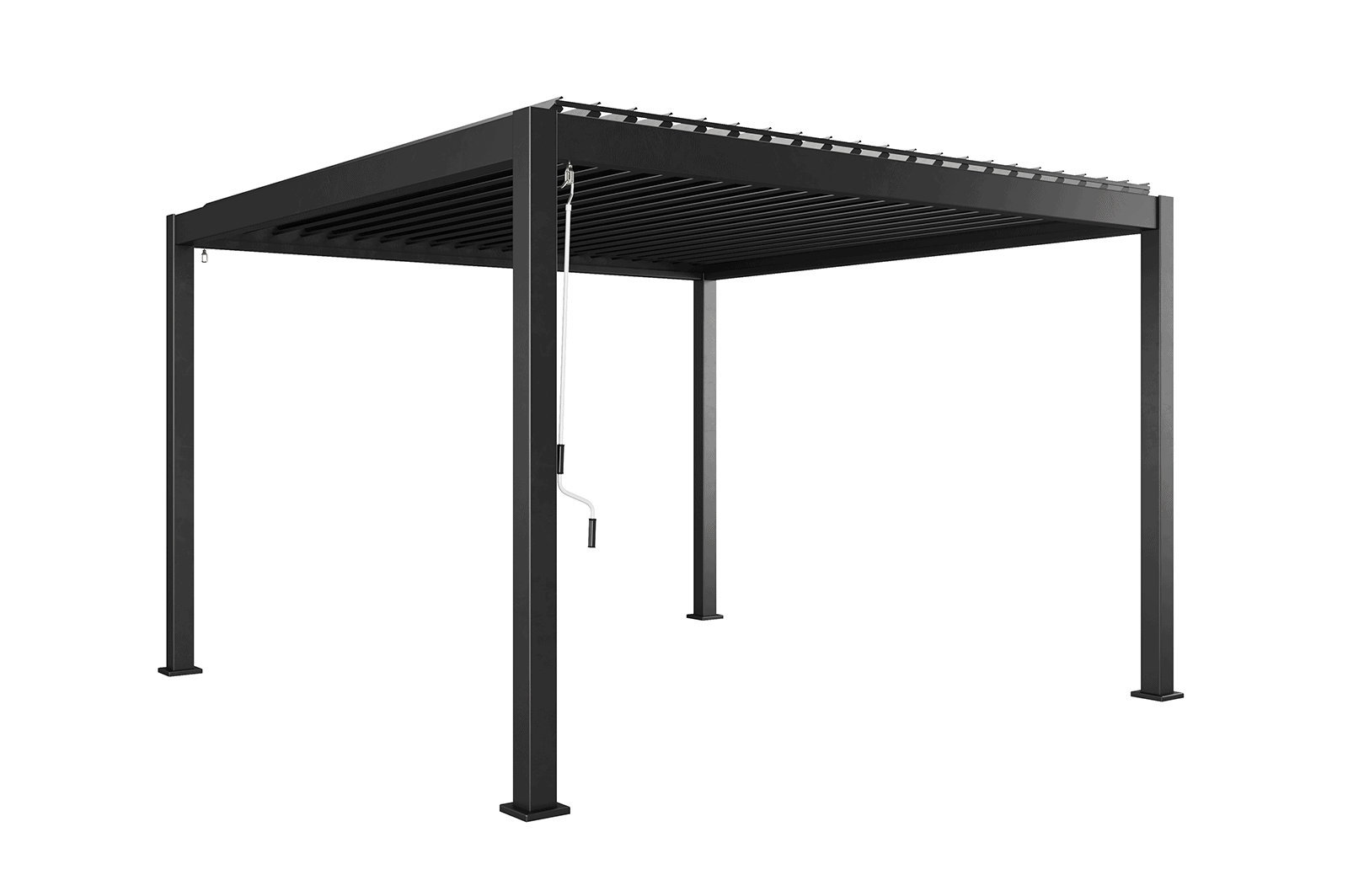 Навес для террасы Perara 360x360CM Grey