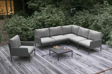 Комплект садовой мебели ARONA I антрацит