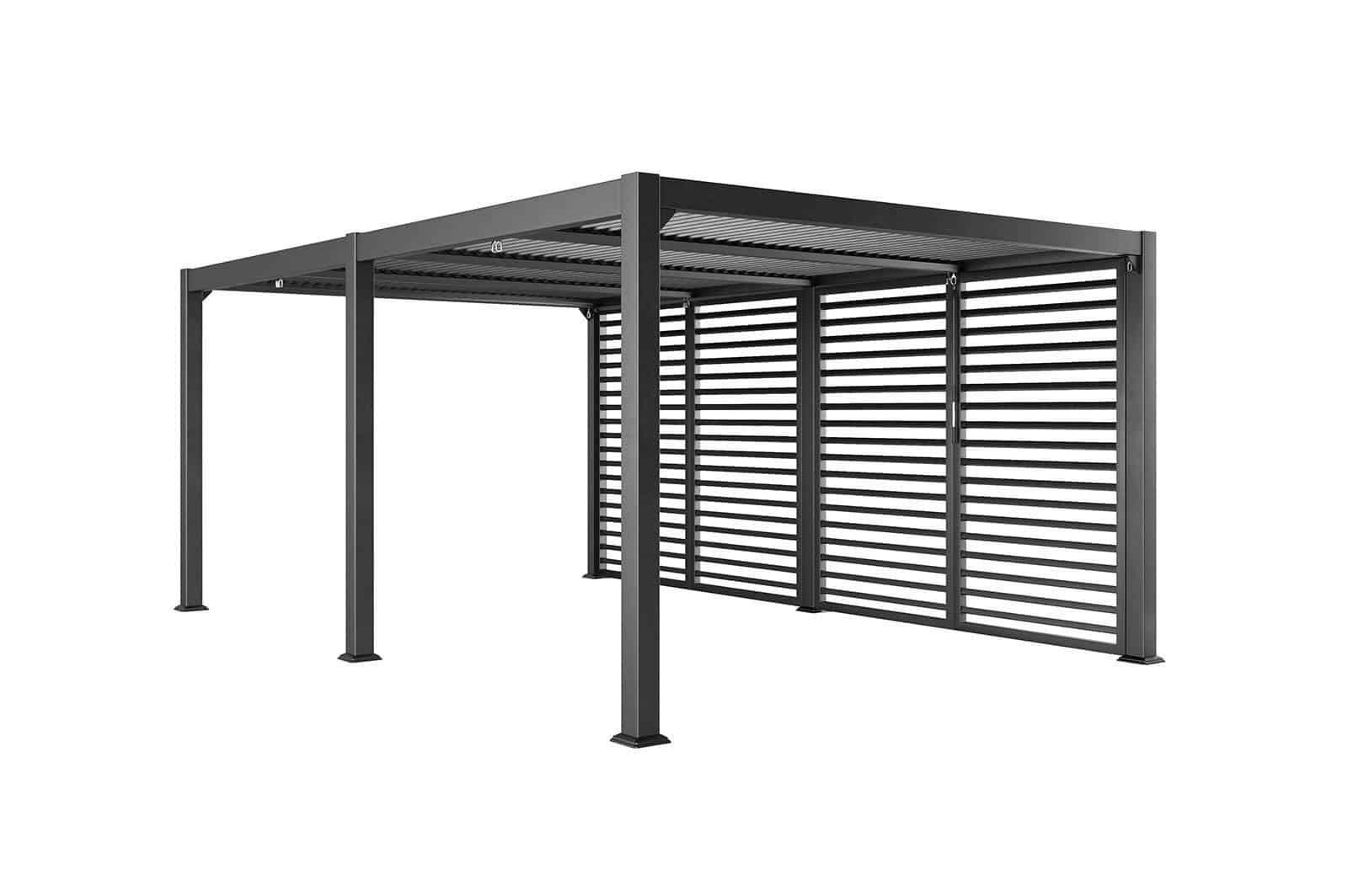 Фасадная жалюзийная стенка MARANZA 540 CM Grey