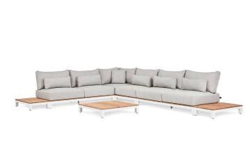 Комплект садовой мебели EVORA III белый