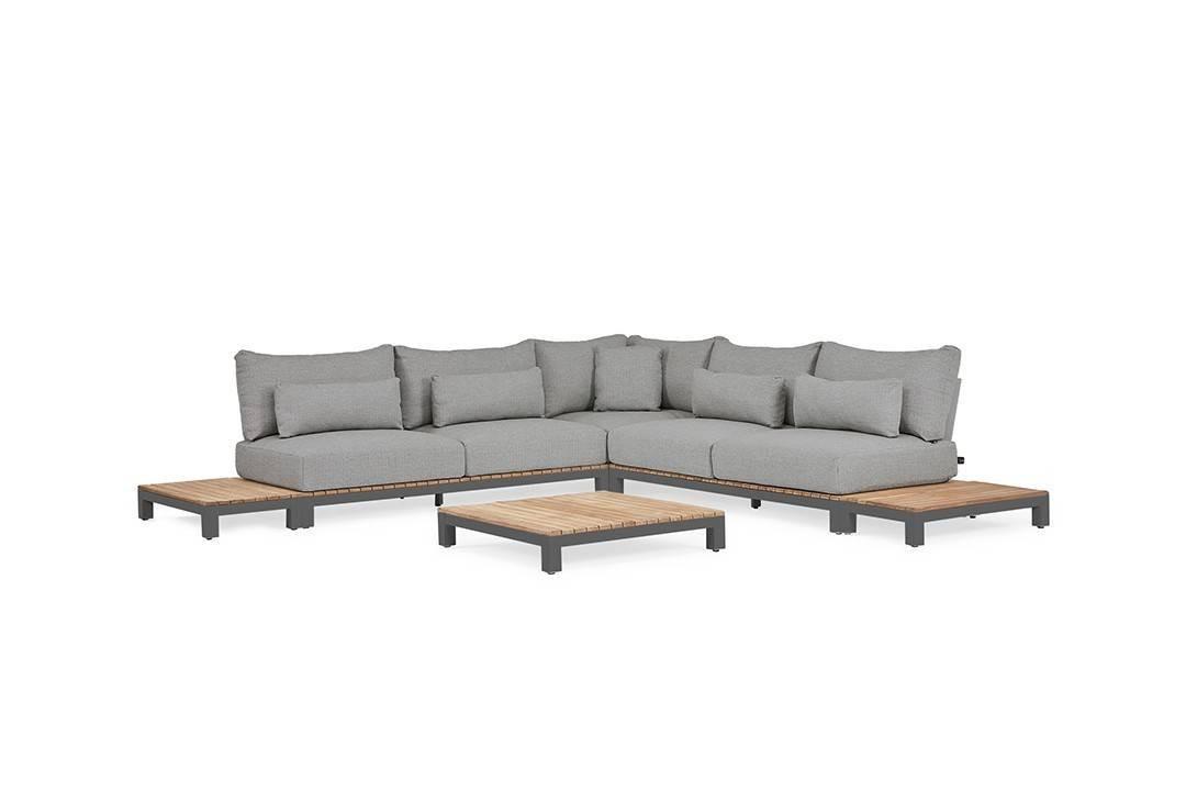 Комплект садовой мебели EVORA II антрацит