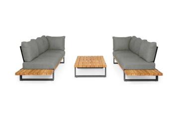 Комплект садовой мебели NARDO III антрацит