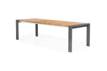 Садовый стол ARONA 212 см антрацит