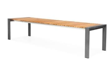 Садовый стол ARONA 262 см антрацит