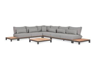 Комплект садовой мебели EVORA III антрацит