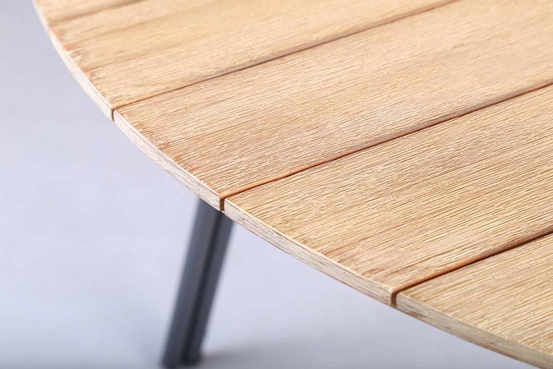Садовый стол SIMI ⌀ 120 см  EUKALIPTUS