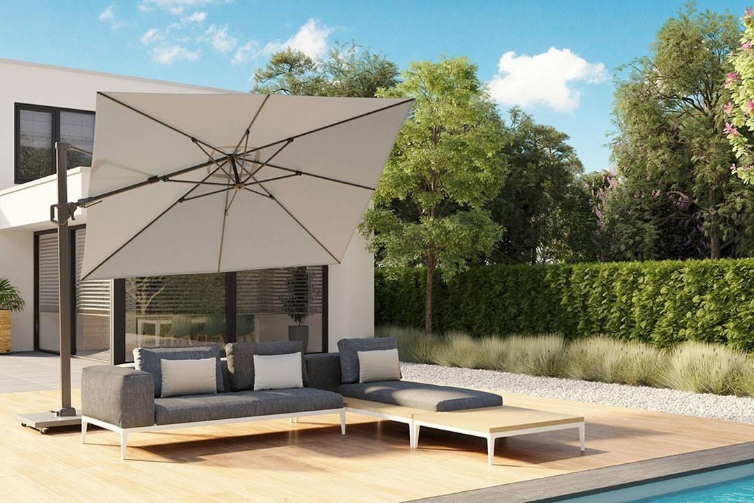 Садовый зонт CHALLENGER T² 3,5 X 2,6 М
