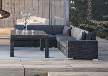 Мебель для улицы MILANO III Royal серый