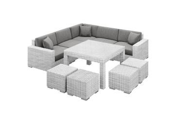 Мебель для улицы MILANO IV Royal белый
