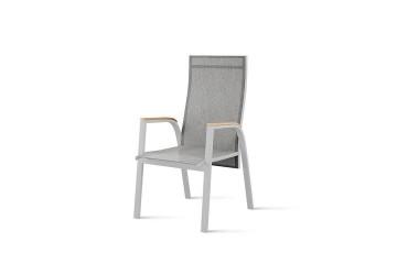 Садовый стул ALICANTE teak - STONE&WOOD серый