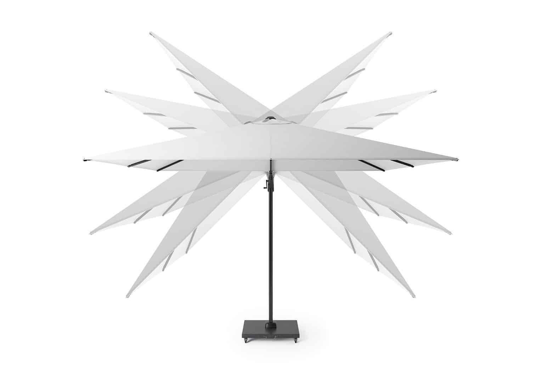 Садовый зонт Challenger T² Premium 3.5x2.6 м
