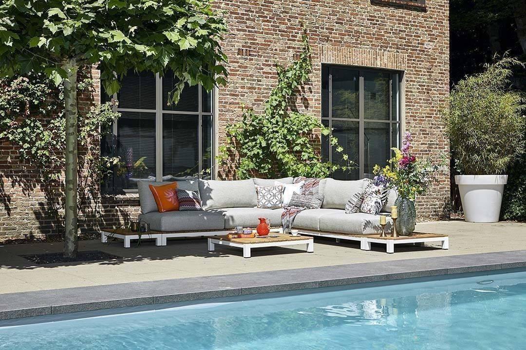 Комплект садовой мебели EVORA II белый