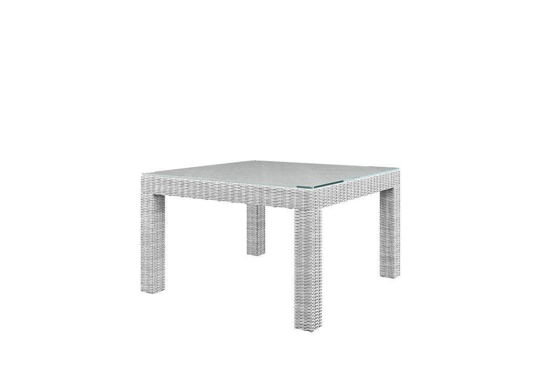 Садовый стол MILANO белый