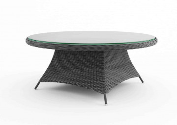 Садовый стол RONDO 180 см серый
