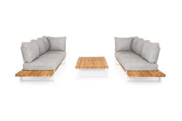 Комплект садовой мебели NARDO III белый