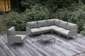 Комплект садовой мебели ARONA I серый