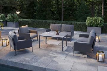 Комплект садовой мебели ARONA II антрацит