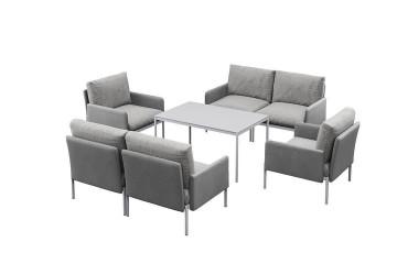 Комплект садовой мебели ARONA II серый