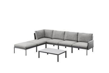 Комплект садовой мебели ARONA III антрацит