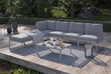 Комплект садовой мебели ARONA III серый