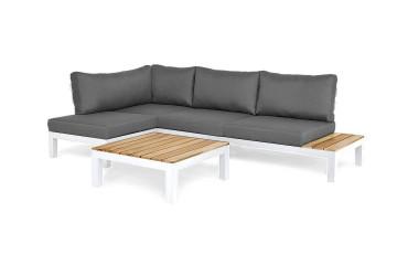 Комплект садовой мебели VITA I левый белый