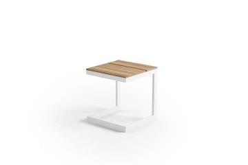Садовый стол GRENADA TEAK белый