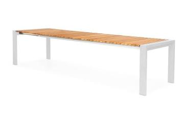 Садовый стол ARONA 262 см белый