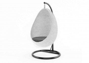 Подвесное кресло KOKON белое