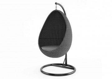 Подвесное кресло KOKON серое