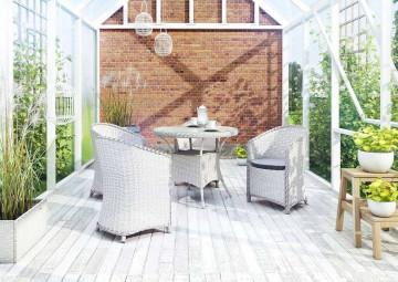 Мебель для балкона FILIP II ø90 белый